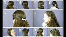 10 easy simple half up hairstyles for everyday youtube