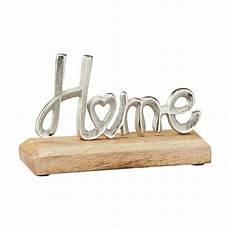 deko schriftzug deko schriftzug quot home quot aus holz und aluminium 64240