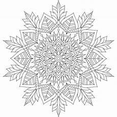 Mandala Malvorlagen Winter 202 Besten Ausmalen Mandalas Bilder Auf