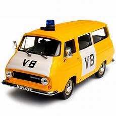 skoda 1203 1974 vb gelb polizei tschechien transporter