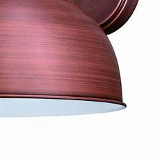 patriot lighting 174 lincoin brushed copper 15 quot outdoor wall light at menards 174