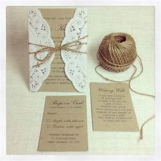 rustic wedding invitations do it yourself wedding