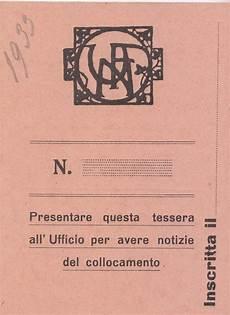 ufficio colocamento ufn b9 f59 ufficio collocamento tessera 0001 pic unione