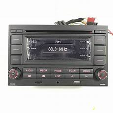 car radio rcn210 cd player usb mp3 aux bluetooth for vw
