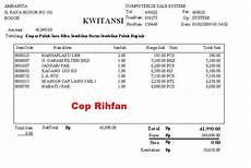 contoh normalisai faktur penjualan ceprihfan09