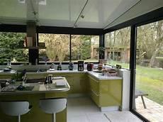 cuisine dans une v 233 randa kitchen ideas in 2019 veranda