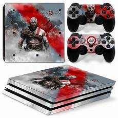 ps4 pro playstation 4 console skin decal sticker god of