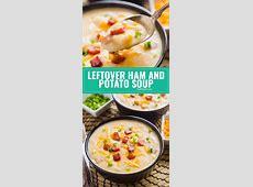 turkey leftover creamy potato and asparagus soup_image