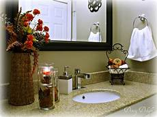 Decorating Ideas For Bathroom Counter by Fall Bathroom Decorating Ideas Pin Your Best Pins Diy