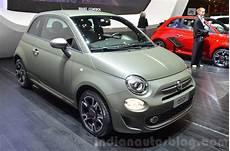 Fiat 500s Geneva Motor Show Live