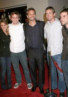 Paul Walker And His Family Paul Walker