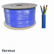 3183y 3 core 2 5mm arctic blue cable flex wire by the meter