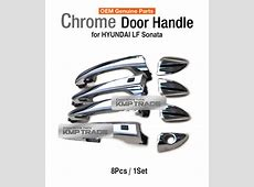 OEM Genuine Parts Exterior Chrome Door Handle for HYUNDAI