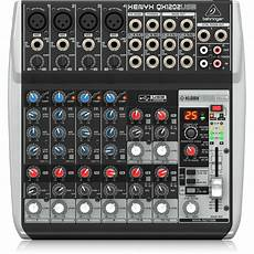 behringer xenyx qx1202usb behringer xenyx qx1202usb premium 12 input 2 mixer cannon sound and light