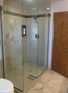 Duschwand Glas Walk In - bathroom wall panels fitting design ideas inspirations
