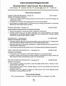 how to write a software testing resume resume templates software testing