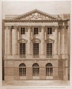 Château De Versailles Architectes Versailles Facade Principale Du Pavillon Nord De Gabriel