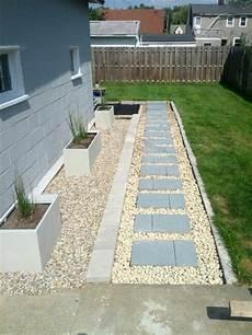 vorgarten mit steinen 1001 beispiele f 252 r vorgartengestaltung mit kies