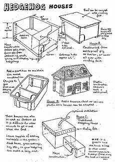 hedgehog house plans preparing to make a hedge hog house and taking care