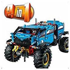 lego technic 42070 lego technic 6x6 all terrain tow truck 42070