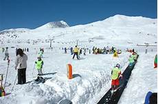 skiing at passo tonale italy onthesnow