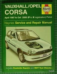 handbuch opel corsa b reference opel corsa b haynes service and repair