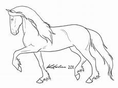 friesian coloring pages at getcolorings free