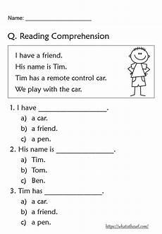 reading comprehension worksheets for grade 1 your home teacher