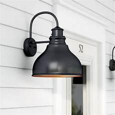 laurel foundry modern farmhouse lavardin 1 light outdoor wall lantern reviews wayfair
