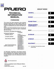 auto repair manual free download 2002 mitsubishi montero sport free book repair manuals mitsubishi montero 2002 2006 workshop technical information manual pdf