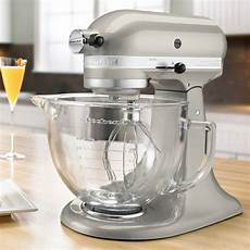 Mixer Glass Bowl by Kitchenaid Stand Mixer With Glass Bowl Delux Artisan