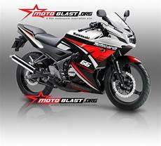 Rr 2014 Modif by Modif Striping Kawasaki 150rr 2014 Green White