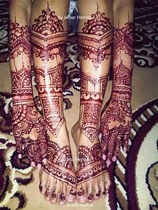 Gambar Henna Pengantin India Balehenna