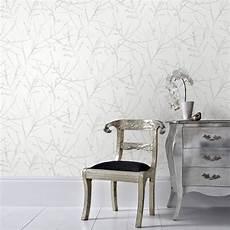 papier peint intissé blanc papier peint intiss 233 innocence blanc leroy merlin