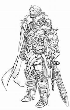 elfen malvorlagen characters 23 besten warcraft coloring pages bilder auf