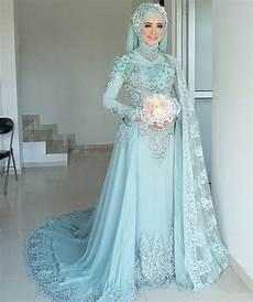 20 Trend Terbaru Kebaya Pengantin Jilbab Modern Flatpop