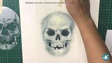 Cara Airbrush Gambar Tengkorak Skull Menggunakan Stencil