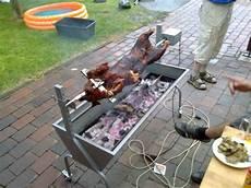 Grill Selber Bauen Einfach - grill f 252 r spanferkel selber bauen kleinster mobiler
