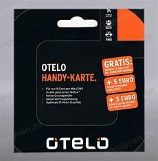 otelo d2 prepaid handy sim karte 5 startguthaben 9 cent o