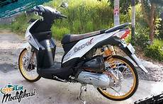 Modifikasi Motor Beat 2018 by Modifikasi Motor Beat 2018 Warna Putih Thailook