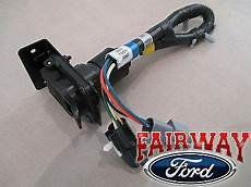97 ford truck trailer wiring 96 97 f 250 f 350 duty oem ford trailer tow wire harness w 7 pin ebay
