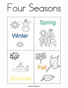 4 seasons printable worksheets 14847 related image new year new season colors and school