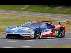 cing car 2017 2017 ford gt race car track testing