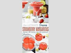 fresh frozen strawberry daiquiris  by the pitcher image