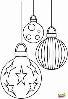 baubles free coloring pages coloring