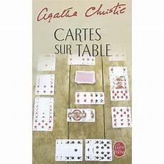 carte sur table auxerre cartes sur table de agatha christie