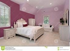 chambre de luxe pour fille s pink bedroom in luxury home royalty free stock