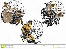 Le Capricorne Le Verseau Les Poissons Et Le Zodiaque