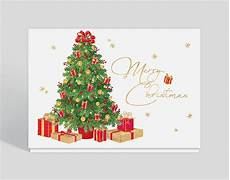 merry christmas trimmings card 300293 business christmas cards