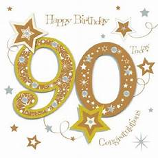 90th Birthday Pictures happy 90th birthday greeting card by talking pictures